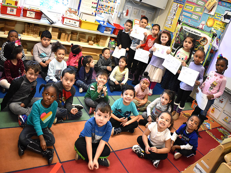 Northeast Kindergartners are Proud Writers