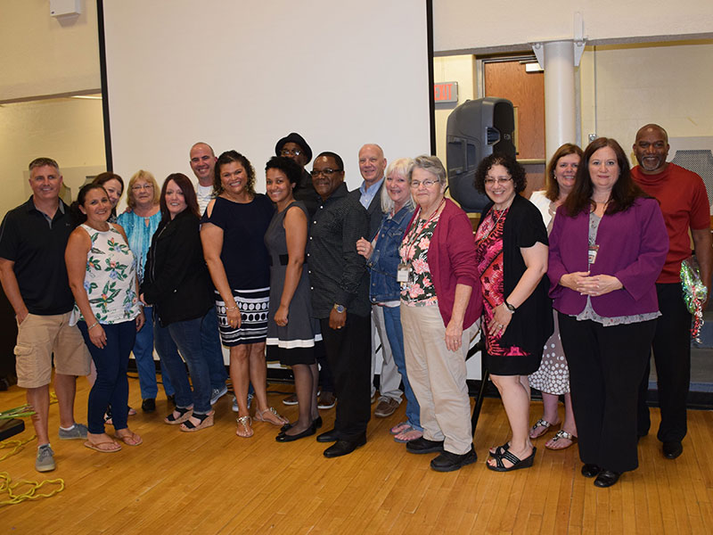 District Celebrates Staff Milestones