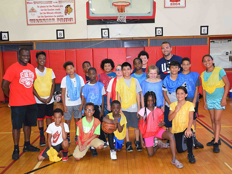 Sports Camps Features Skills and Drills