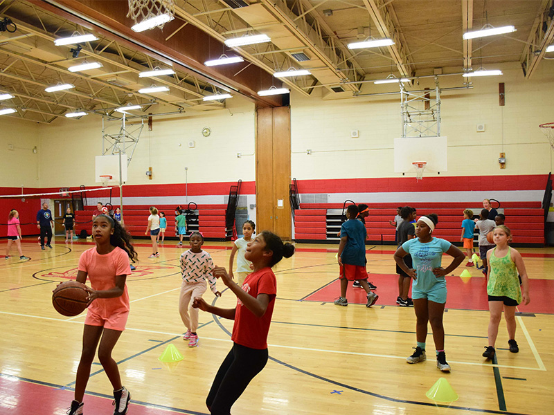 Summer Sports Camp Fosters Fun and Fitness