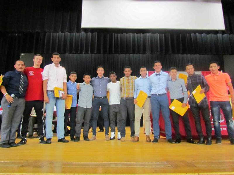 Amityville Honors Varsity Athletes