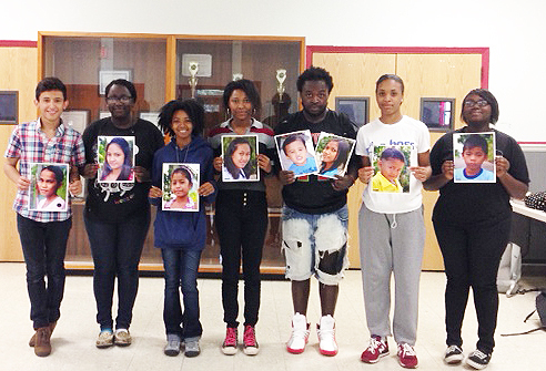 AMHS Artists Make Memorable Portraits