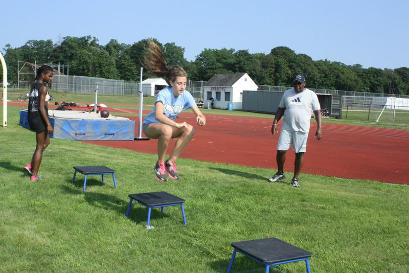 AMHS Hosts 2nd Annual Summer Track and Field Clinic