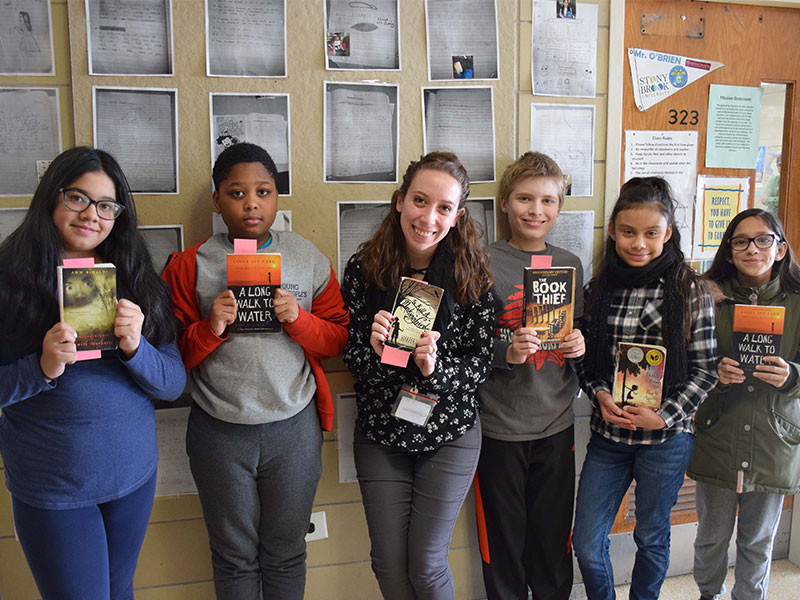 Fiction Brings History to Life at Middle School