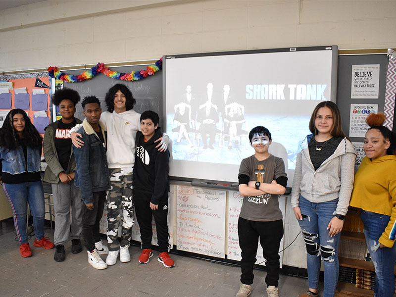 Middle School Students Make Persuasive Product Pitches