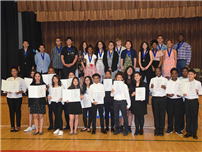 Middle School Honor Society Welcomes New Members photo