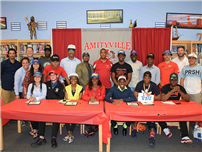 Amityville Athletes Make College Commitments Photo