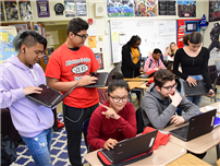 Chromebooks Transform Teaching and Learning at Middle School