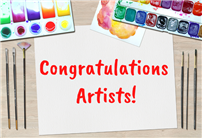 Congratulations Artists Graphic thumbnail168777