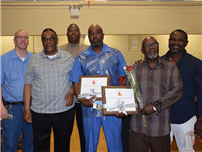 Amityville Staff Recognized for Service photo